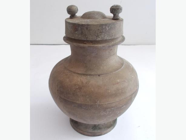 Vintage Empty Urn Screw Top