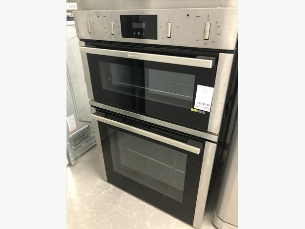 🟩🟩PLANET🌎APPLIANCE🟩🟩NEFF BUILT IN DOUBLE OVEN/COOKER