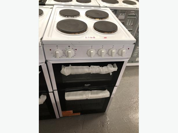 🟩🟩PLANET🌎APPLIANCE🟩🟩 BUSH 50CM ELECTRIC COOKER /OVEN WITH GUARANTEE