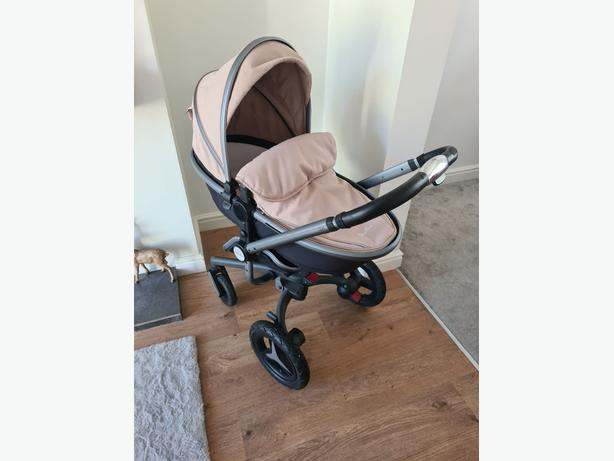 silvercross pram/pushchair/carseat with isofix