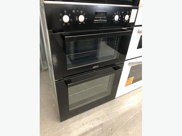 🟩🟩PLANET🌎APPLIANCE🟩🟩 ZANUSSI INTEGRATED DOUBLE OVEN/COOKER WITH GUARANTEE