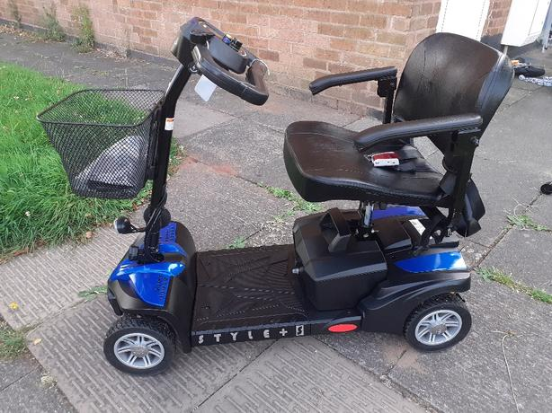 drive style plus s mobility scooter