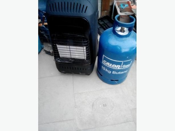 Portable gas heater calor