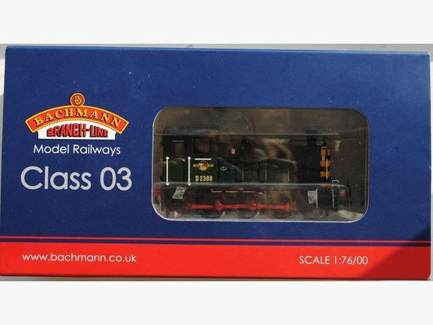 Bachmann Class 03 diesel shunter