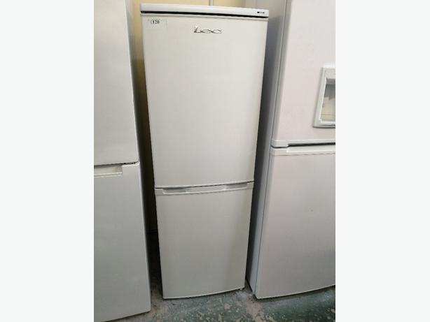 Lec Fridge freezer white 3 months warranty at Recyk Appliances