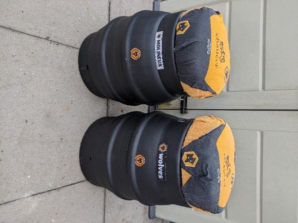 Beer Barrels Wolves Colours £15