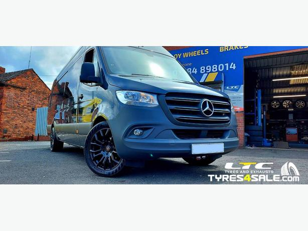 """20"""" Wolfrace Evoke -X  Wheels and Tyres for Merceds Sprinter"""