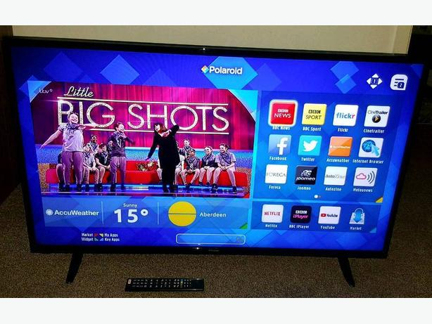 50 INCH 4K ULTRA HD SMART LED TV+BUILT IN APPS+WIFI+REMOTE+DELIVERY