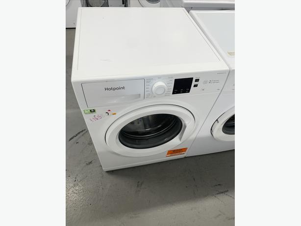 PLANET APPLIANCE - HOTPOINT WASHER WASHING MACHINE IN WHITE