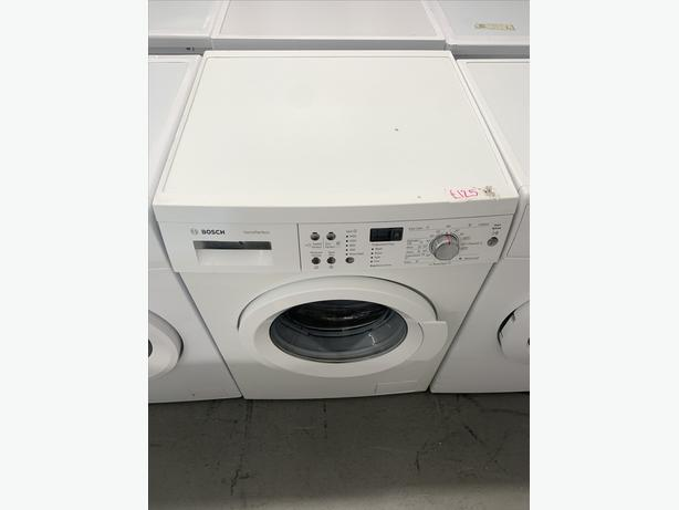 PLANET APPLIANCE - WHITE BOSCH WASHER WASHING MACHINE