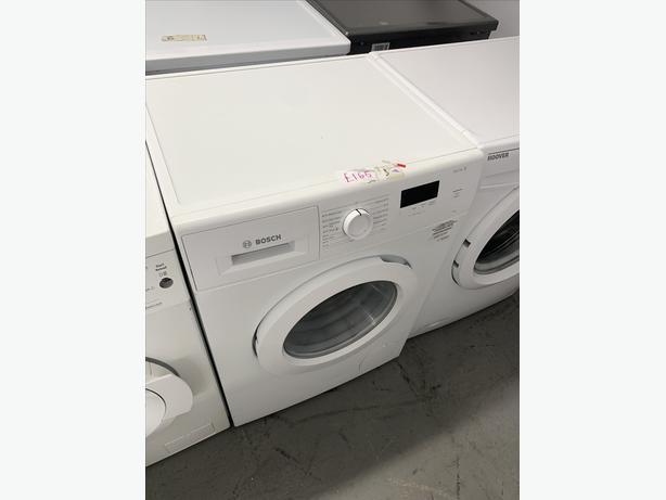 PLANER APPLIANCE - BOSCH WASHER WASHING MACHINE IN WHITE