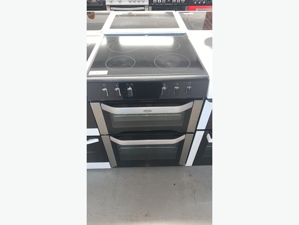 PLANET APPLIANCE - 60CM BELLING ELECTRIC COOKER IN SILVER