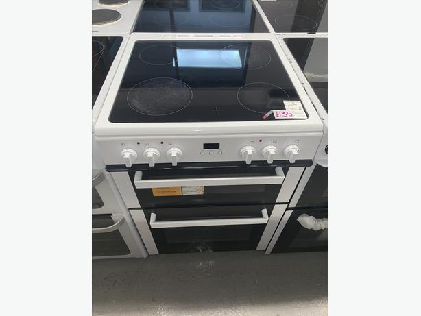 PLANET APPLIANCE - 60CM BUSH ELECTRIC COOKER IN WHITE