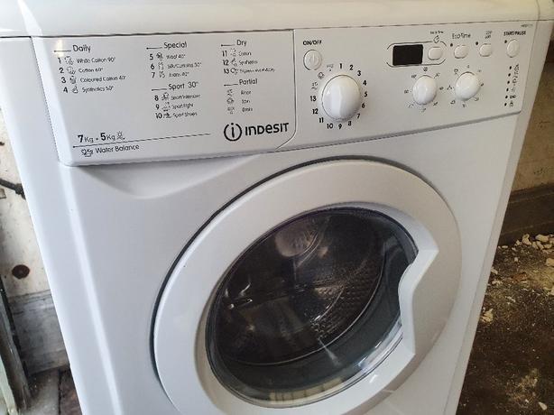 indeset washer dryer