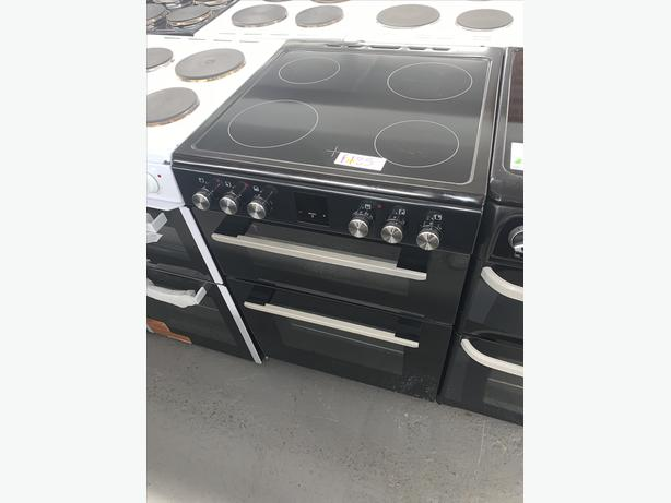 PLANET APPLIANCE - 60CM ELECTRIC COOKER IN BLACK