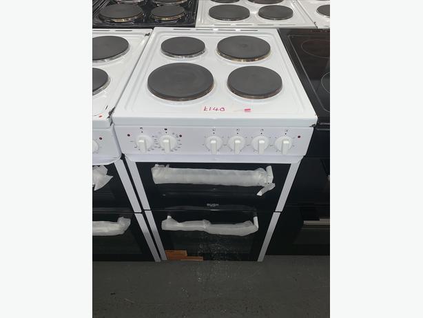 PLANET APPLIANCE - 50CM BUSH ELECTRIC COOKER PLATED