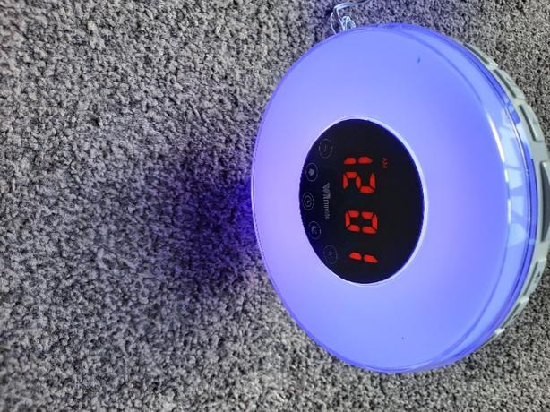 WitMoving Alarm Clock, Wake Up Light Bedside Sunrise Simulator