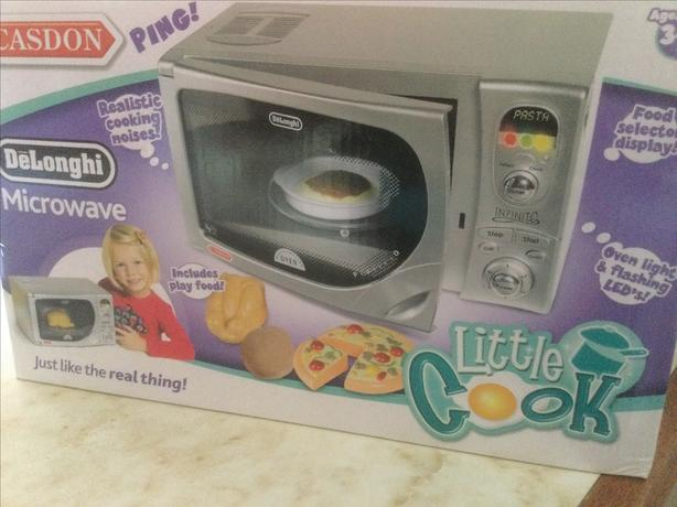 Child's toy microwave