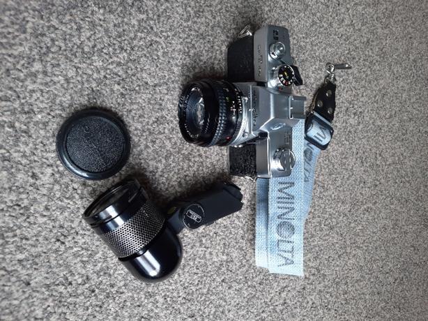 Minolta SR T 100 Vintage Camera