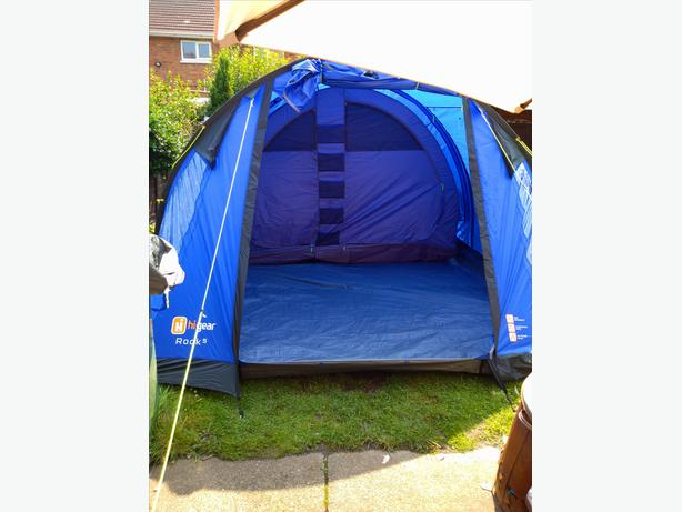 Hi gear rock 5  tent brand new paid 300 AND NEVER USED.