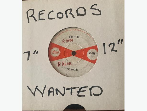 RECORDS VINYL WANTED: