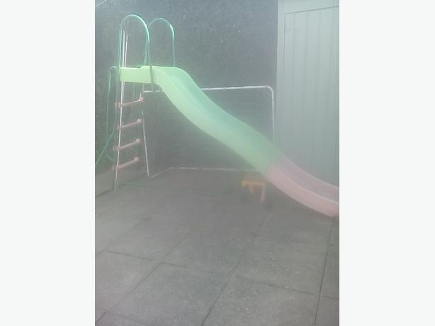 childs garden slide