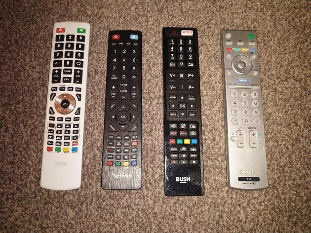 sony technika logik bush remotes