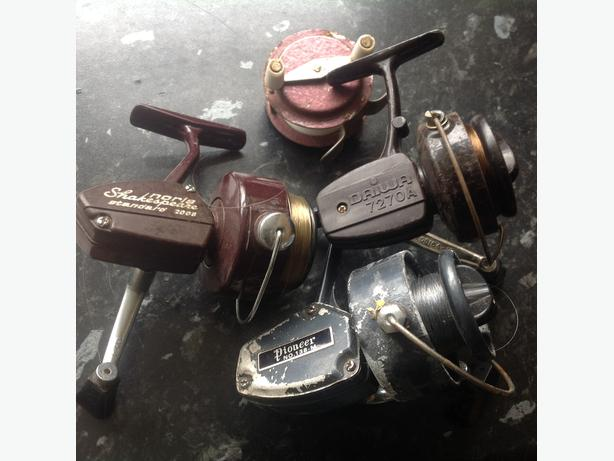 4 vintage reels