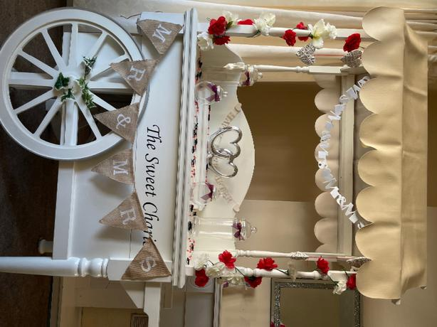 candy cart to hire