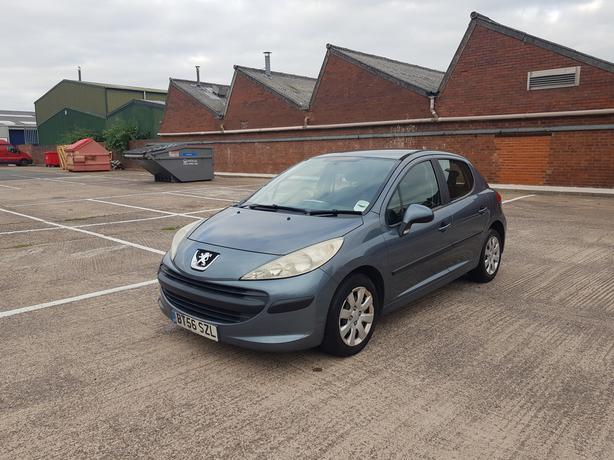 Peugeot 207 1.4, 5 door low mileage long mot good condition, drive great