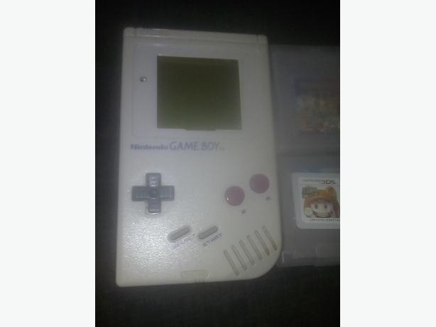 original gameboy/with 6games