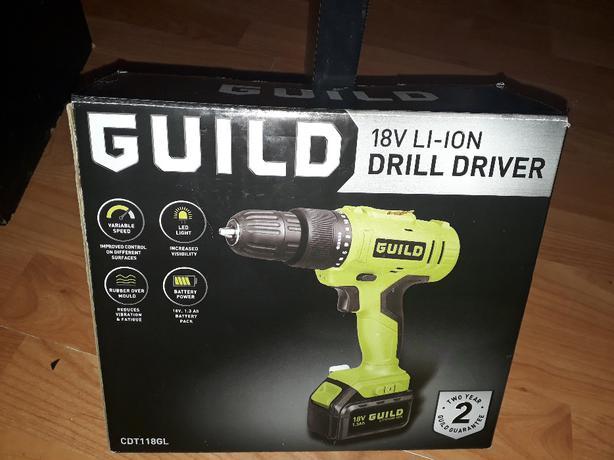 Guild Driver  18V LI-ON