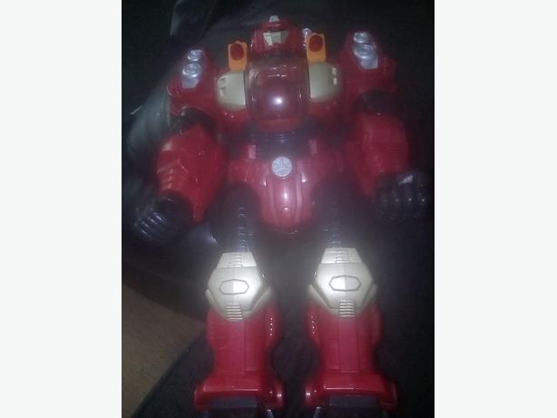light up robot toy
