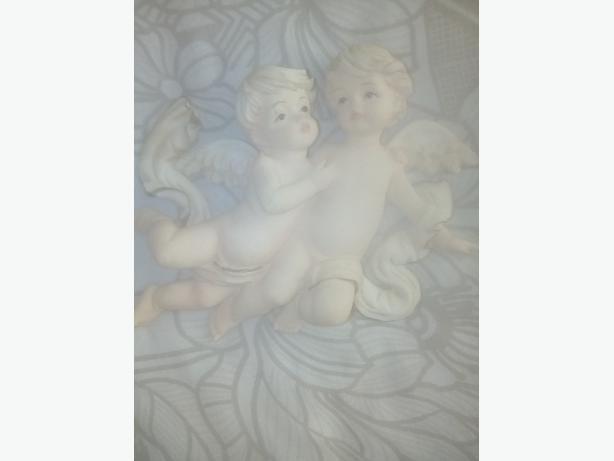 cherub wall ornament