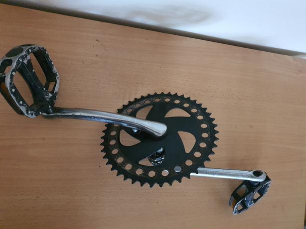 One Piece Bike Crank 42 Teeth Chainring.