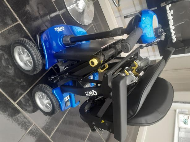 edrive careco auto fold mobility scooter