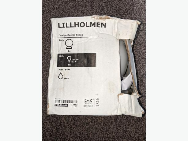 New Ikea LILLHOLMEN - Ceiling wall lamp