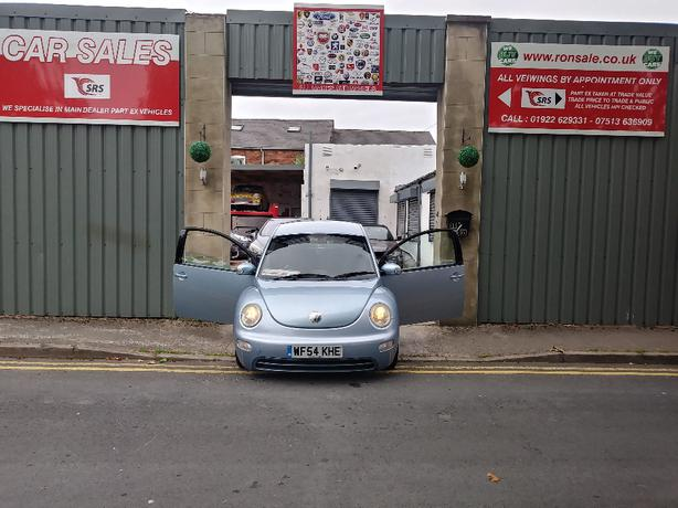 vw beetle 1.9 TDI 54 plate part ex to clear £590