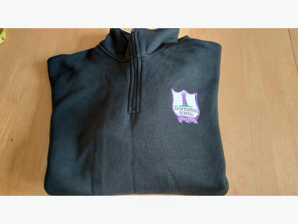 Dormston school PE sweatshirt unworn chest 38-40 inches