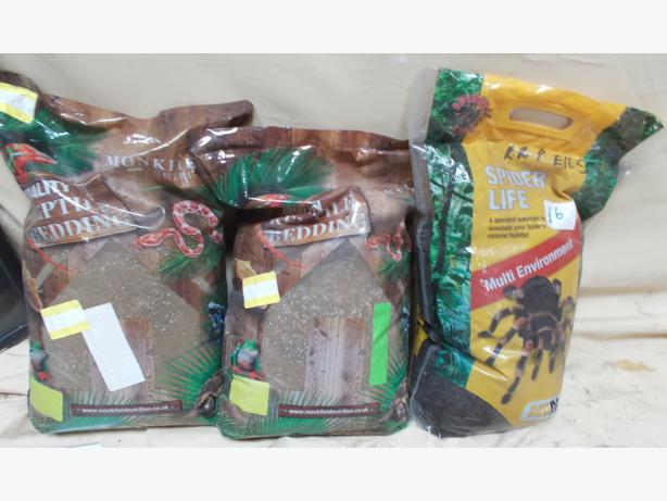 3 Bags of Animal Substrate