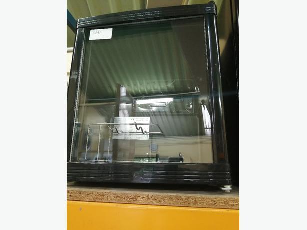 GLASS DOOR TABLE TOP FRIDGE WITH WARRANTY AT RECYK APPLIANCES