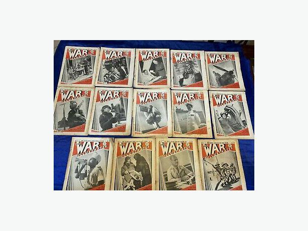 Rare Full Set of WW2 Memorabilia