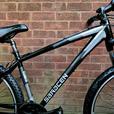 "Saracen Tufftrax mountain bike,27.5""wheels,front suspension"