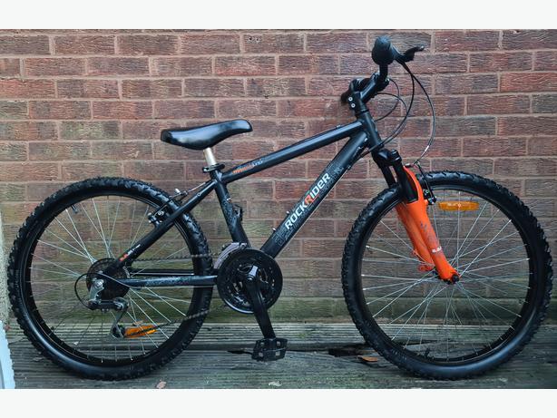 """Rockrider 5.2 junior bike,24""""wheels,21 speed"""