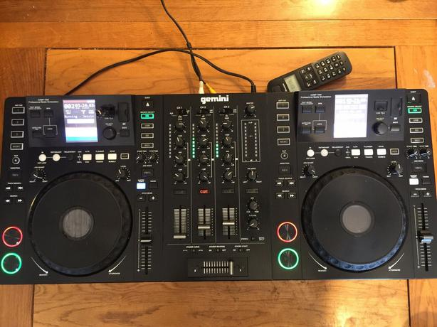 Gemini CDMP-7000 Media Controller & DJ System Dual CD & USB