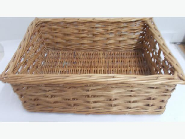 Pull Out Wicker Basket