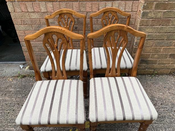4 - Dinning Room Table Chairs