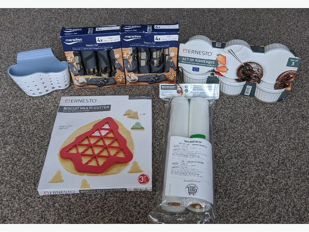 NEW kitchen items £4 each item