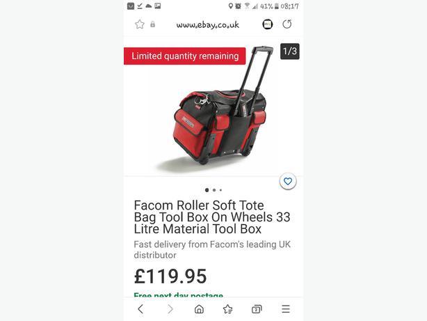 facom large tool bag