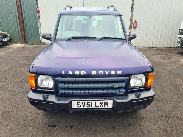 LAND ROVER DISCOVERY  TD5 S 2.5 DIESEL 5 SPEED 2001